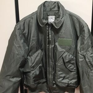 Unused USAF pilot flyers jacket air crew